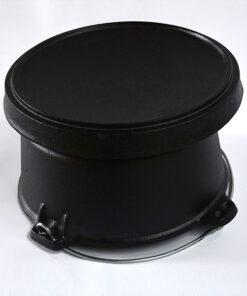 FireChef Dutch Oven 4L, Cast Iron Cooking Pot
