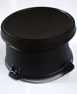 FireChef Dutch Oven 4L, Cast Iron Cooking Pot
