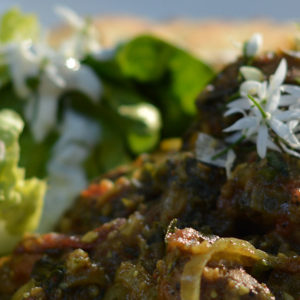 Wild Garlic Lamb Vindaloo