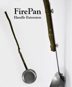 FirePan, Handle Extension kit included
