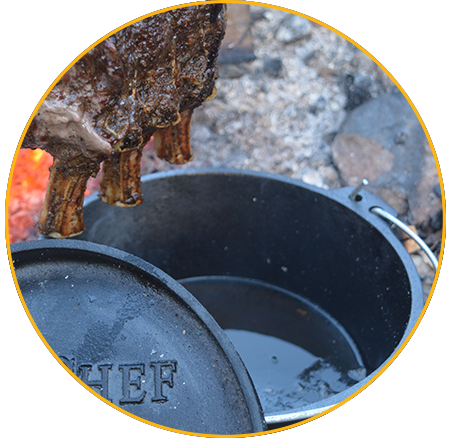 How To Dutch Oven Lid Skillet