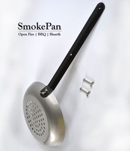 SmokePan - Open Fire & BBQ Grill Pan